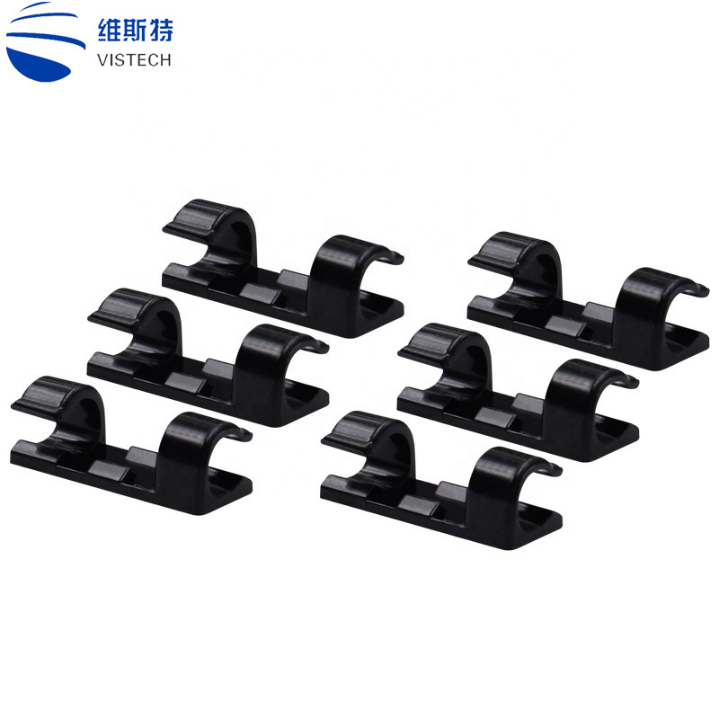 China Manufacturer Promotional Gifts Wiring Accessories Home Office Pp Adhesive Desktop Wall Cable Winder China Desktop Wall Cable Winder Wiring Accessories