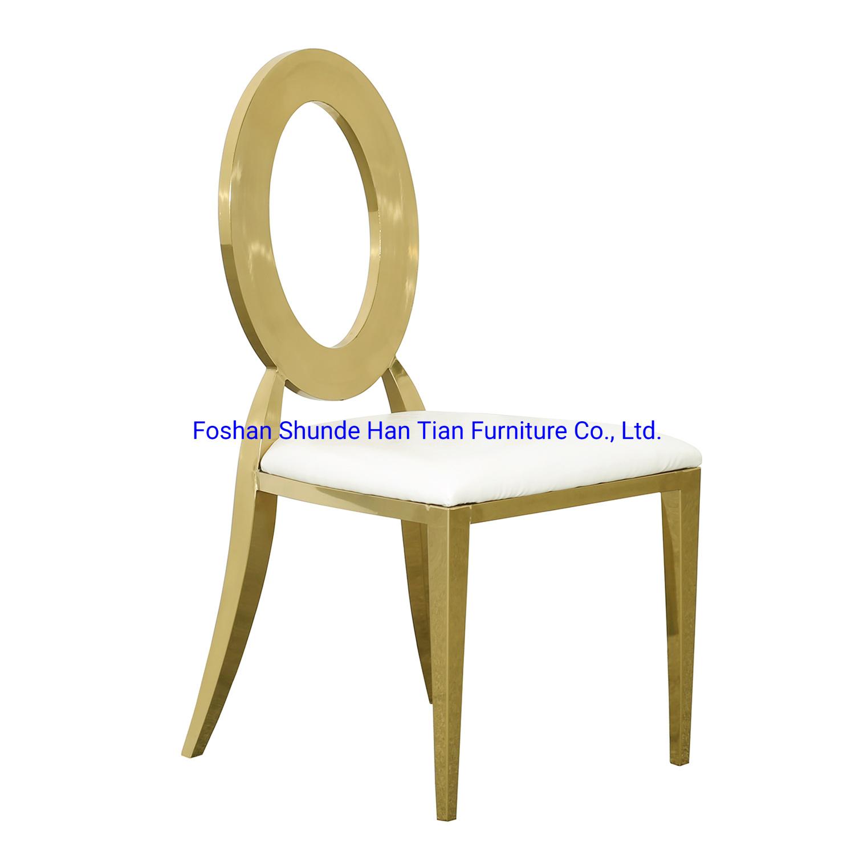 Modern Ghost Round Pu Chair