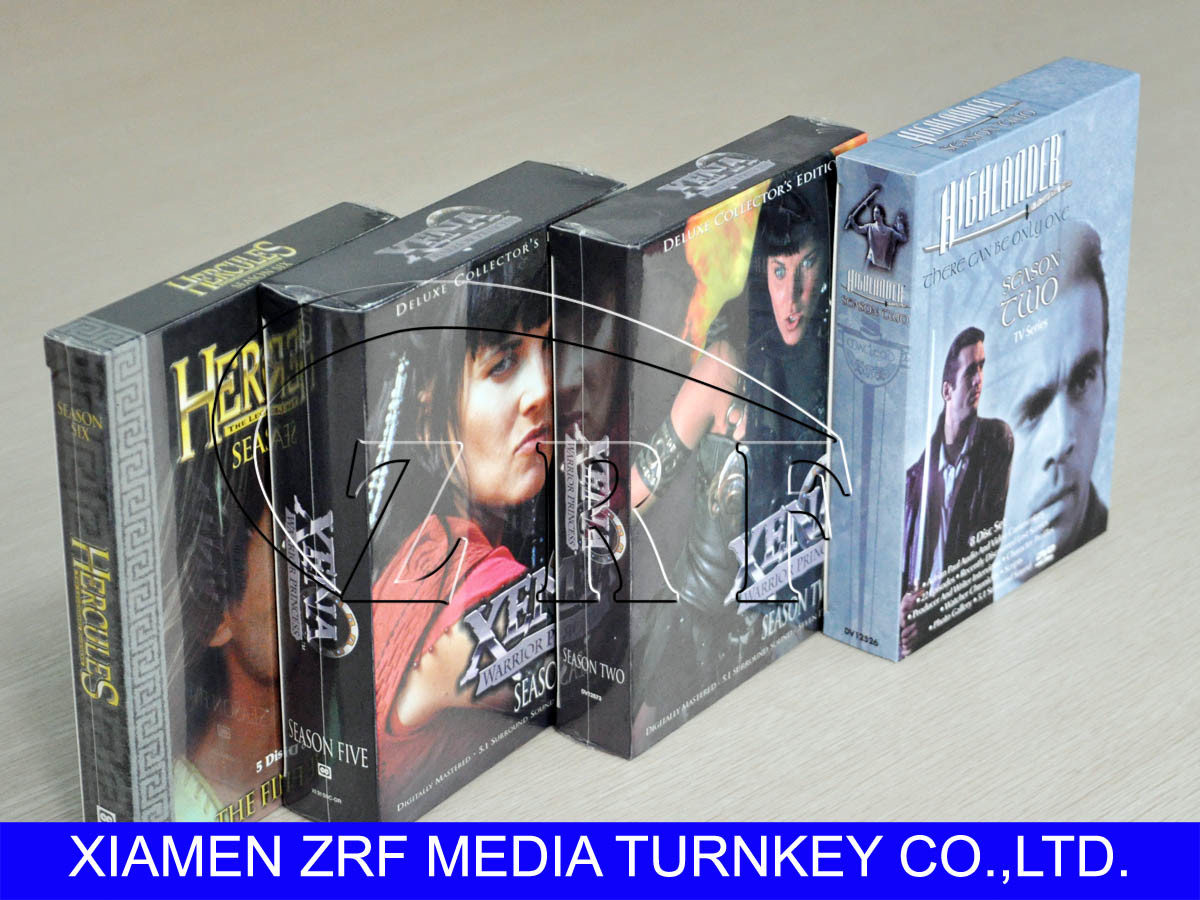 DVD Replication in Disk Tray with Slipcase Packaging Service pictures & photos