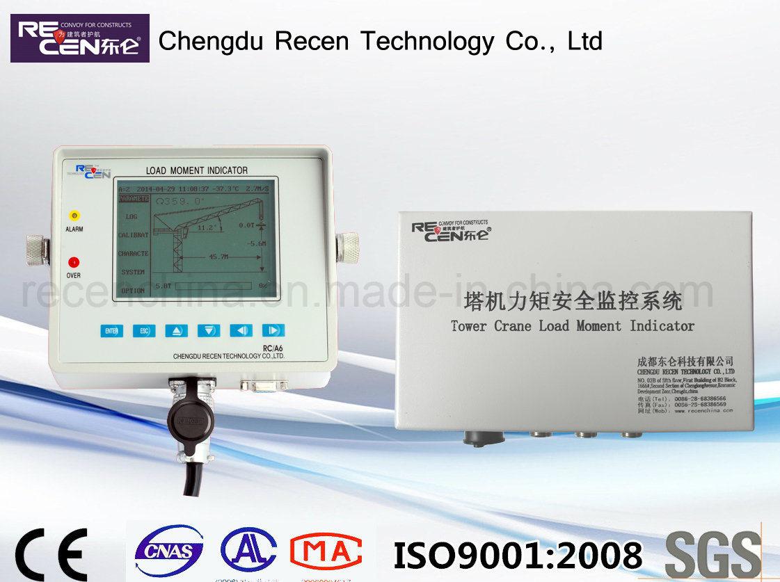 China Tower Crane Weight Indicator RC-A6 - China Load Moment