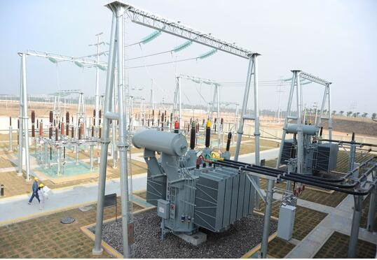[Hot Item] China Manufacture Excellent Quality 220kv Electric Substation  Steel Structure