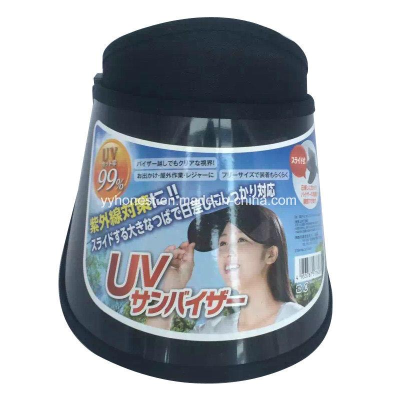 China Custom New Design Funny UV Sun Visor Hat PVC Sun Visor Photos ... 866696b5c9c