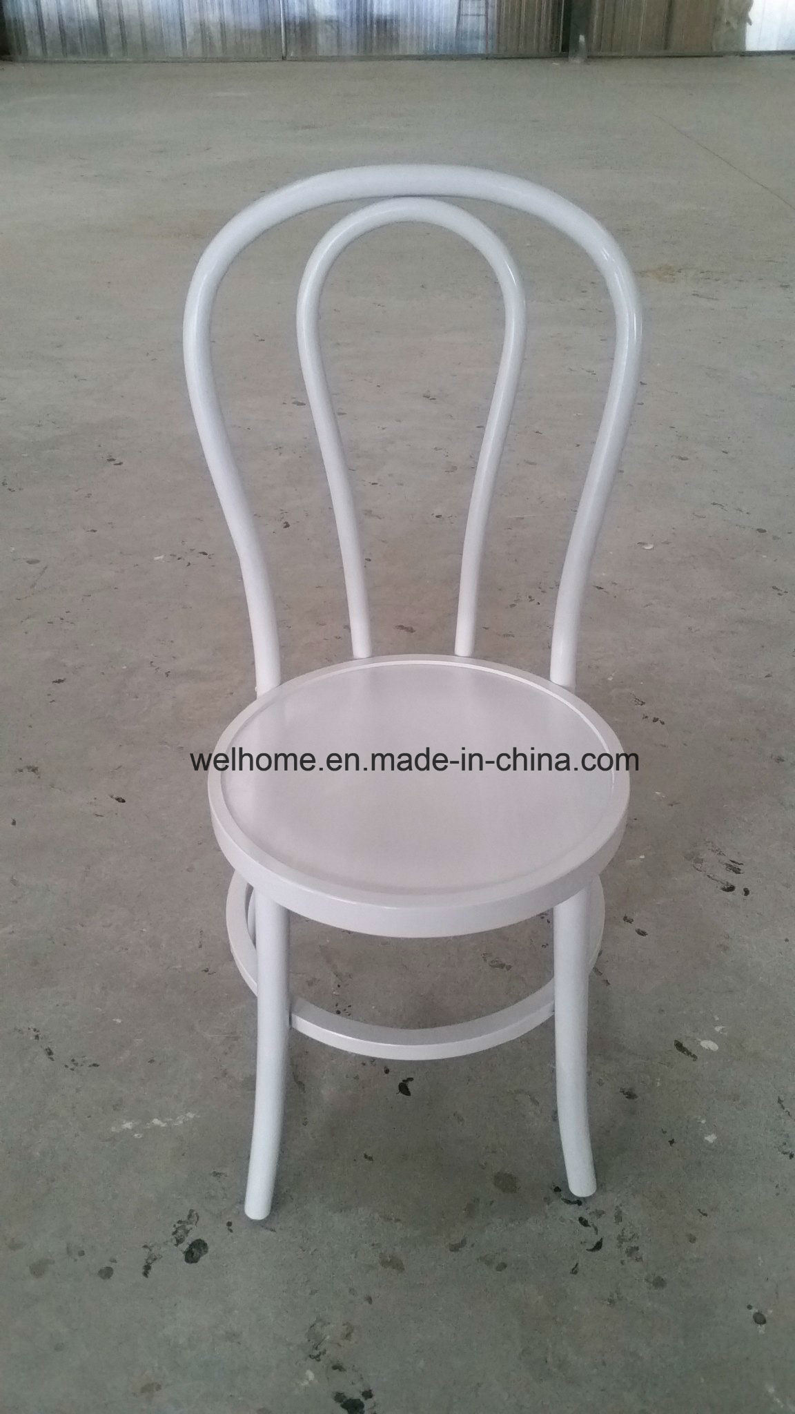 China White Color Stackable Bentwood Chair For Thonet