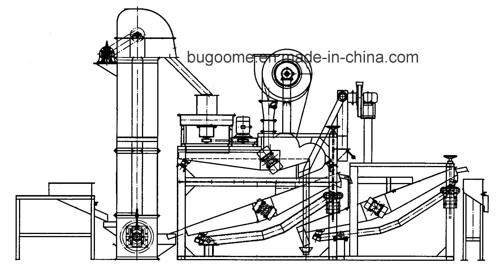 Oat Shelling Machine