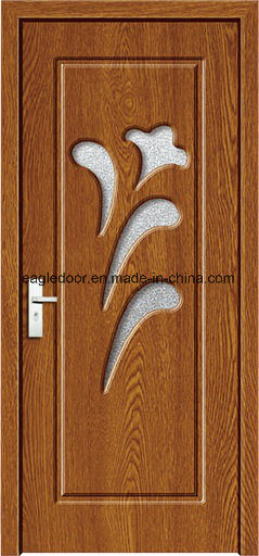 Dubai Latest Design PVC Interior Wooden Doors (EI-P125) pictures & photos