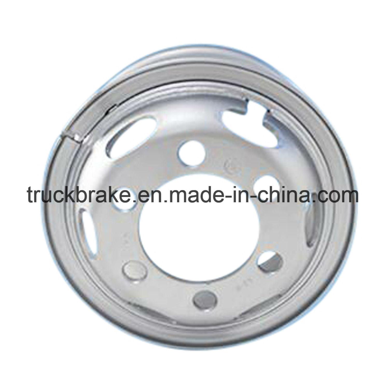[Hot Item] Factory Sale Truck Accessories Steel Tube Wheel Rim  6 0X16-750/Steyr