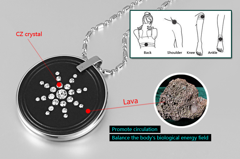 High Ion Quantum Lava Pendant with Stainless Steel Protector (30005) pictures & photos