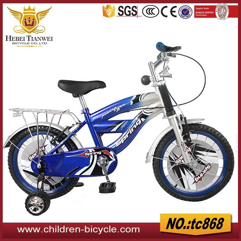 China Spring Blue Child Bike Bicycle Kids Cycle For Wholesale
