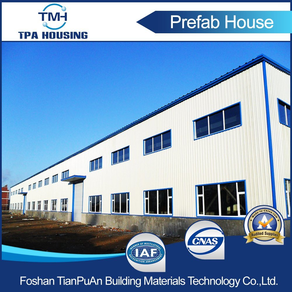 Prefabricated Steel Construction Factory Building pictures & photos