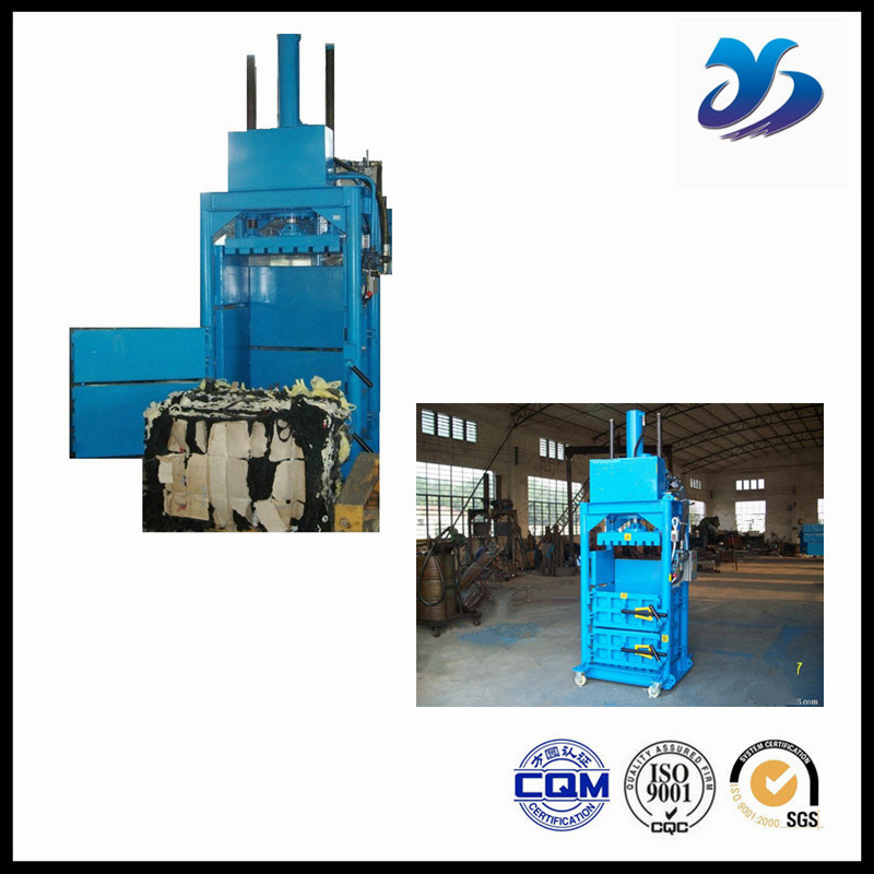 Industrial Use Mini Hydraulic Clothing Baler/Baling Machine for Cardboard pictures & photos