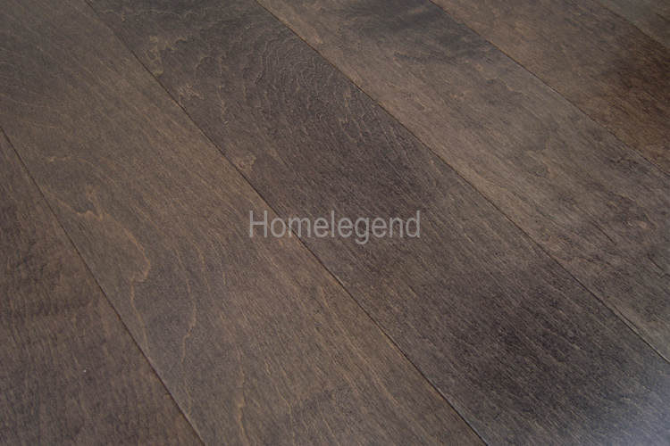 China Hand Sculpted Distressed Birch Engineered Wood Flooring