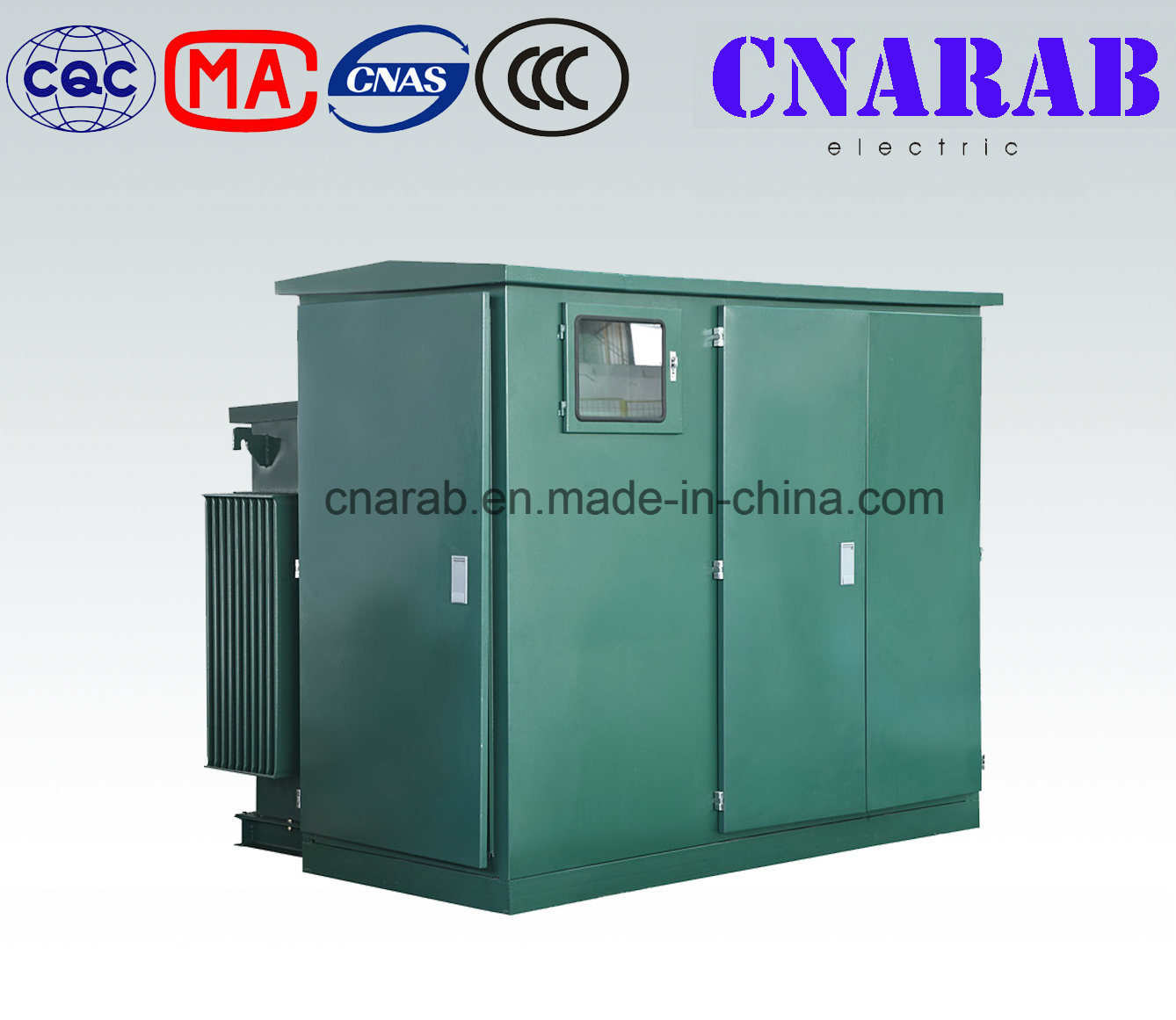 Prefabricated Transformer Substation (American Type Substation YB Series)