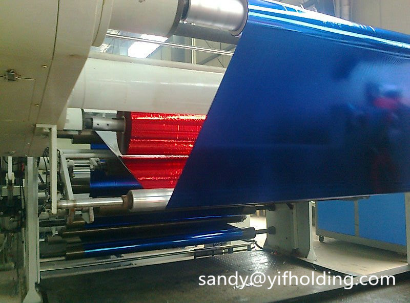 Metallized Pet Film for PE Laminating