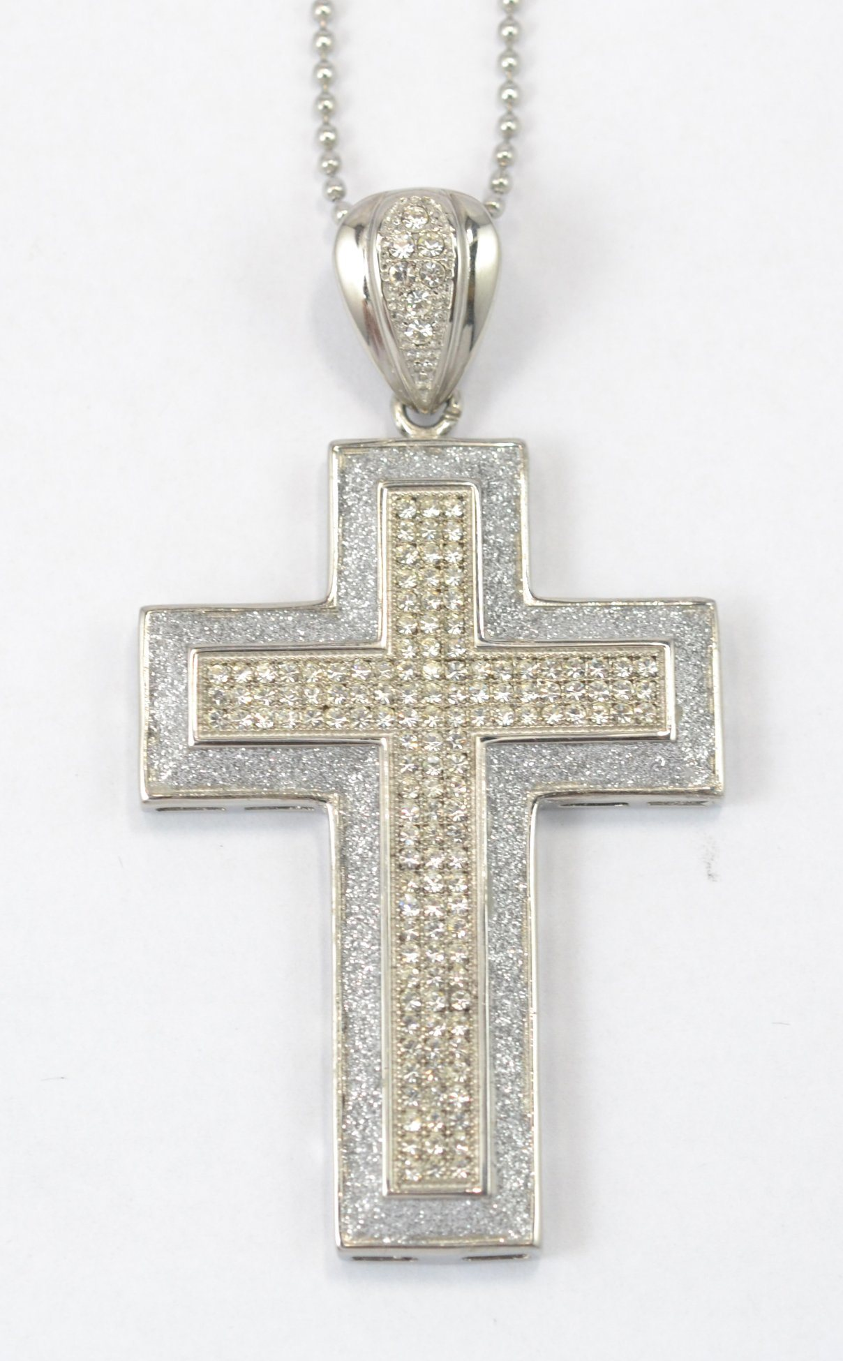 Hot Sale Factory Price Colourful Cross Synthetic Opal Pendant Jewelry