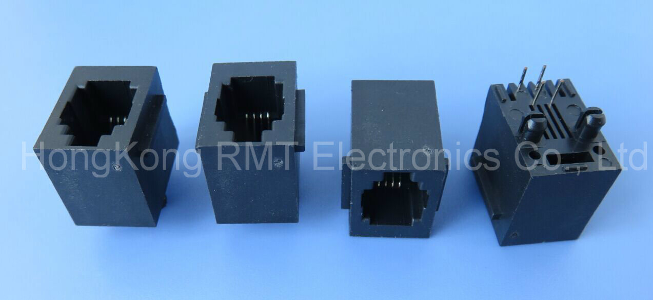 Rj11 Connector (RMT08-RJ11-164) in Stock pictures & photos