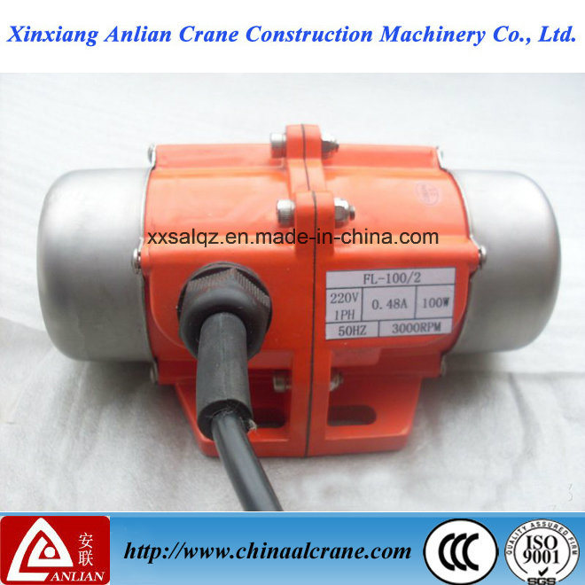 110V 1ph Vibration Motor Vibrating 100W