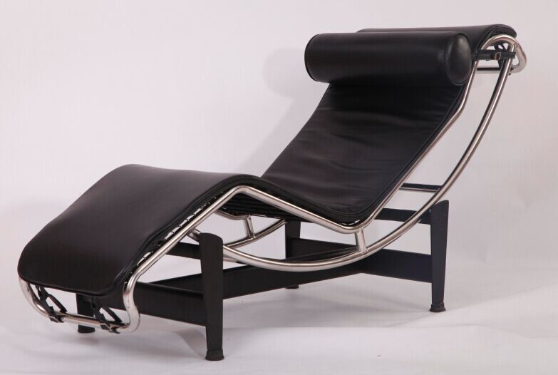 Corbusier Stoel Replica : China modern home furniture le corbusier lc chaise lounge chair