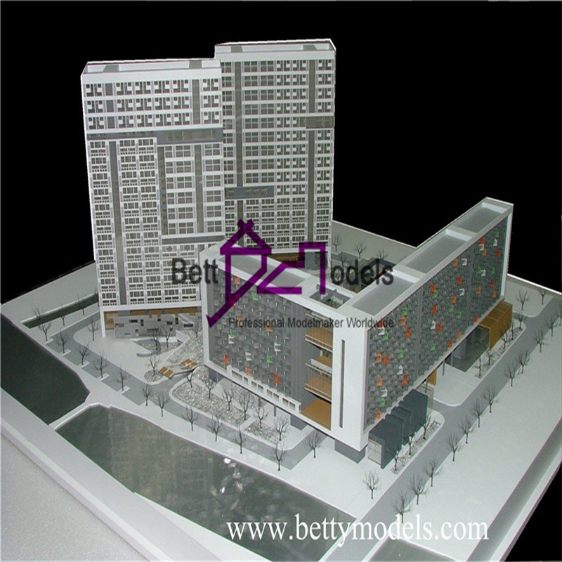 [Hot Item] Commercial Hotel Scale Model Made by Architectural Model Maker  (BM-0295)