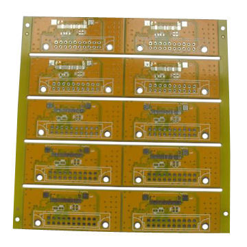 China 2L Yellow Solder Mask High Tg Double Sided PCB - China Double