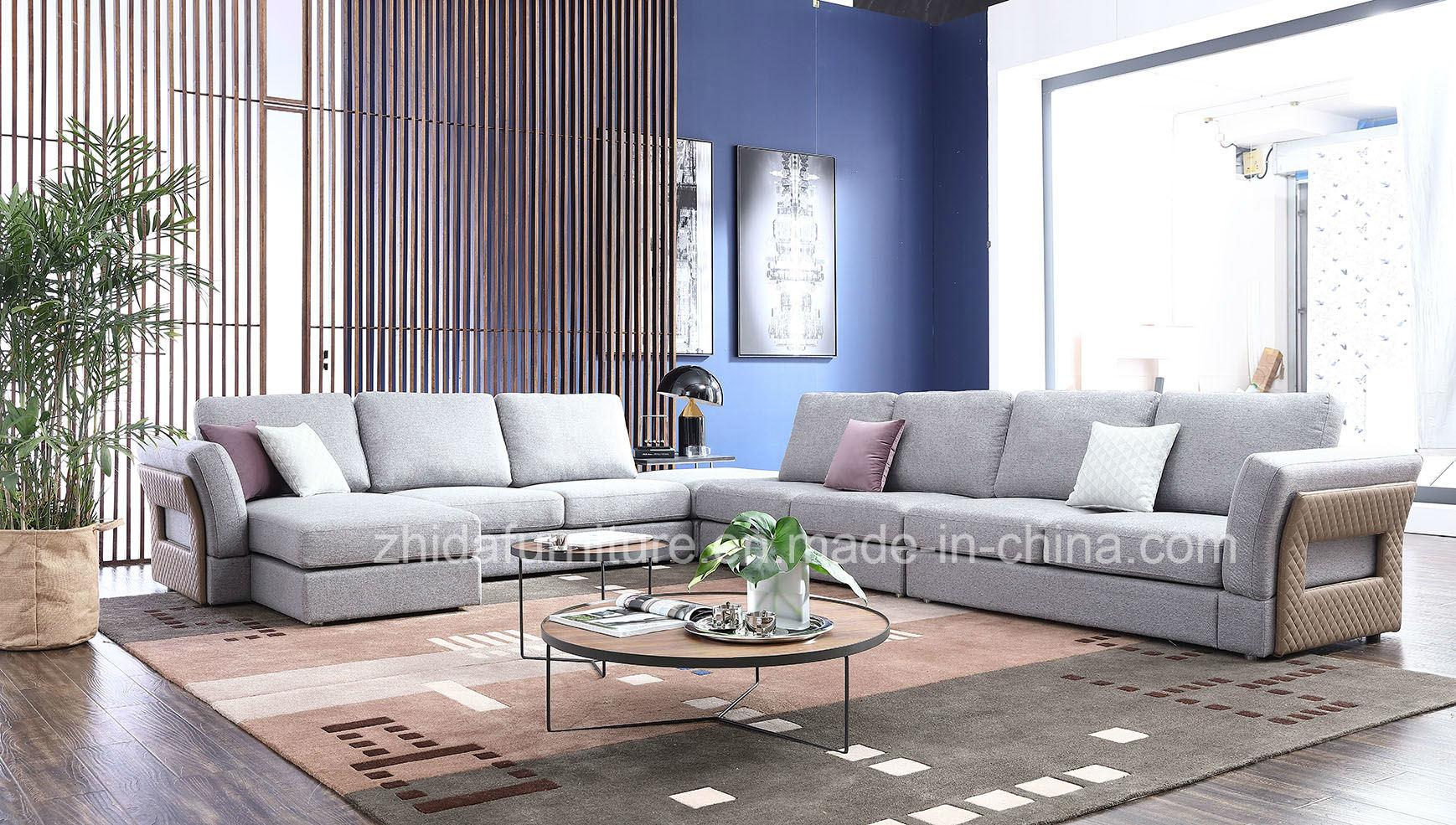 China New Design Modern Living Room Big Corner Sofa - China Big ...