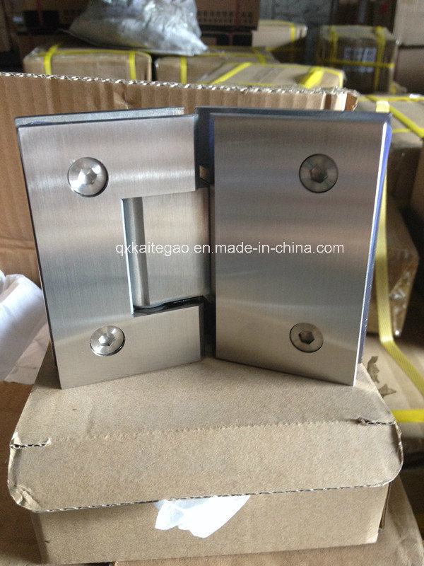 (KTG-1004) Ss Casting Solid Glass Door Hinge pictures & photos