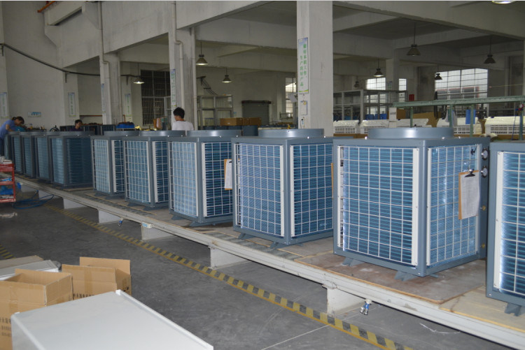 Commercial Building Using Save70% Power 12kw, 19kw, 35kw, 70kw, 105kw out 60deg. C Dhw Monobloc Heat Pump 12kw Water Heater