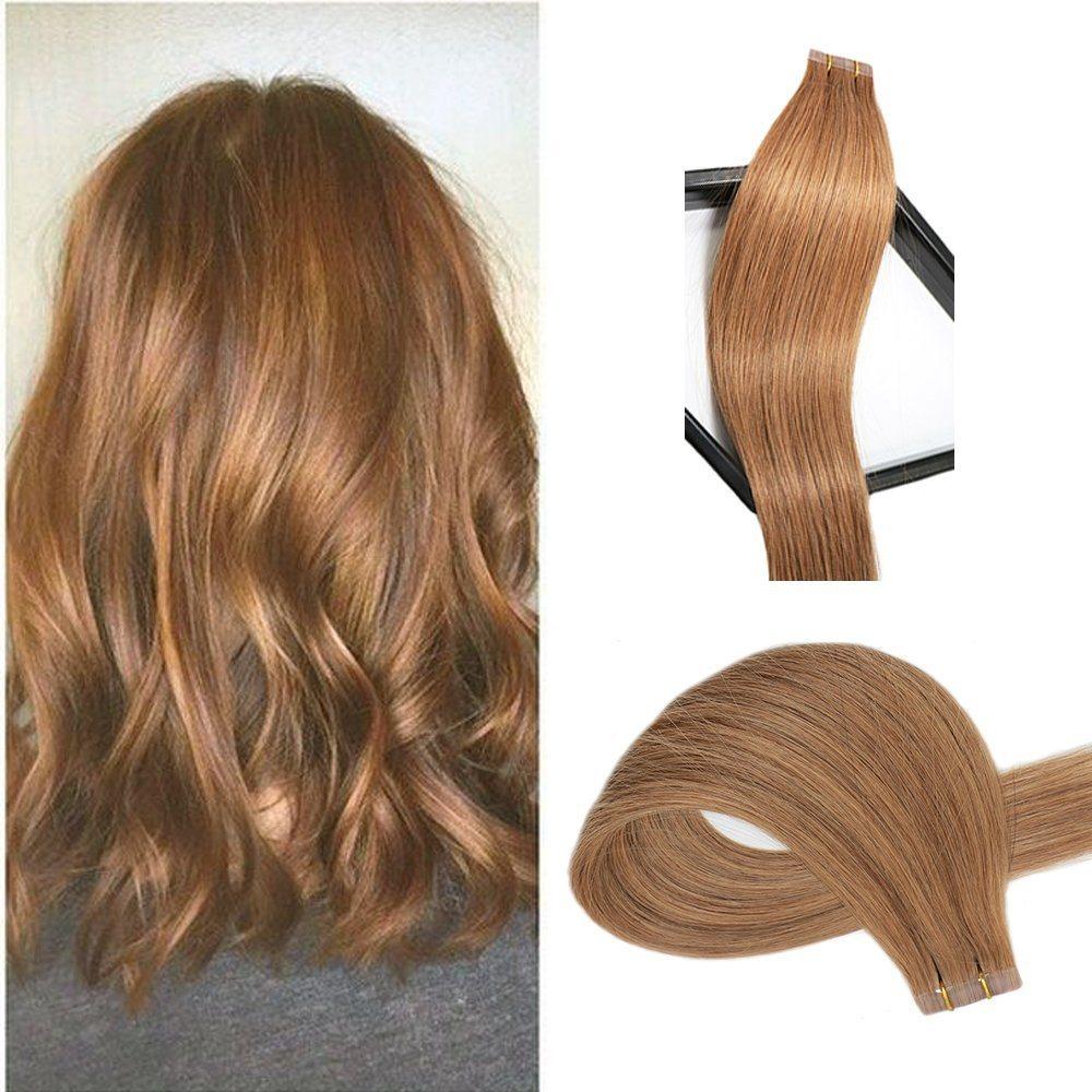 China Aviva Tape In Human Hair Extension Virgin Human Hair 16inch