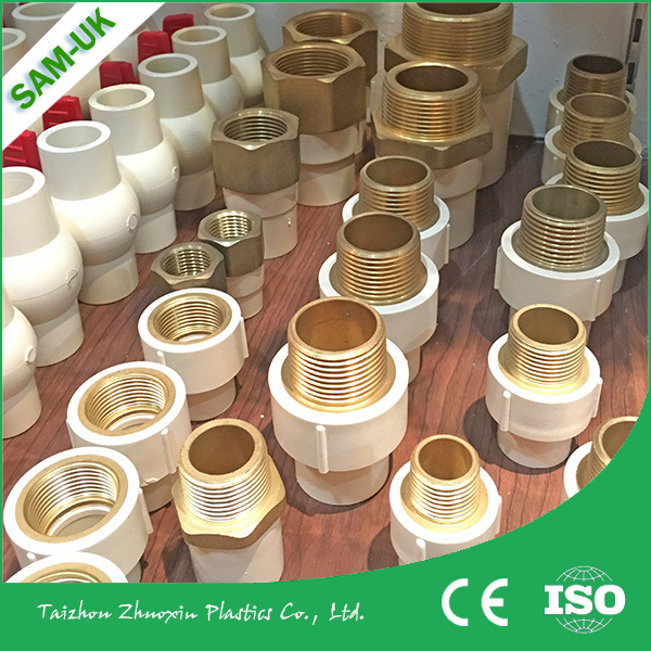 CPVC NPT Pipe Fittings Brass Male Female Threaded Adapter