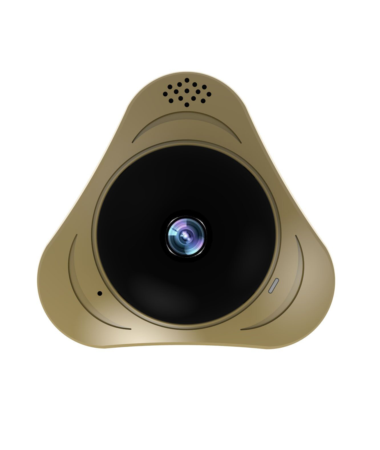 [Hot Item] Toesee 360 Degree Panoramic WiFi Camera with HD 960p Wireless Vr  3D Panorama IP Camera P2p Security Wi-Fi Camera APP Yoosee