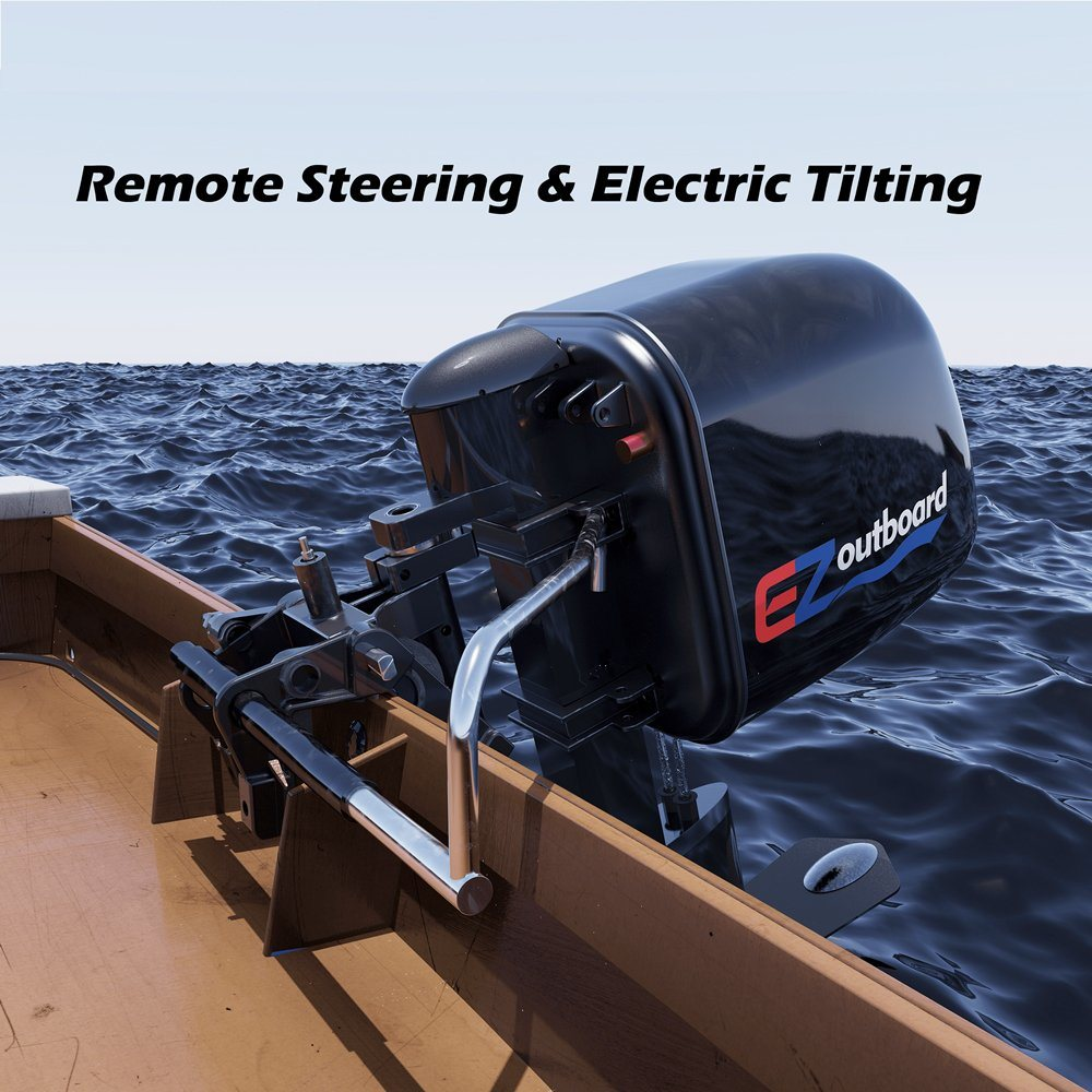 China 20hp Electric Propulsion Outboards Drive Kits Power Saving Electric Boat Engine Marine Boat Engine With Remote Control China Electric Outboard Motors Boat Motors