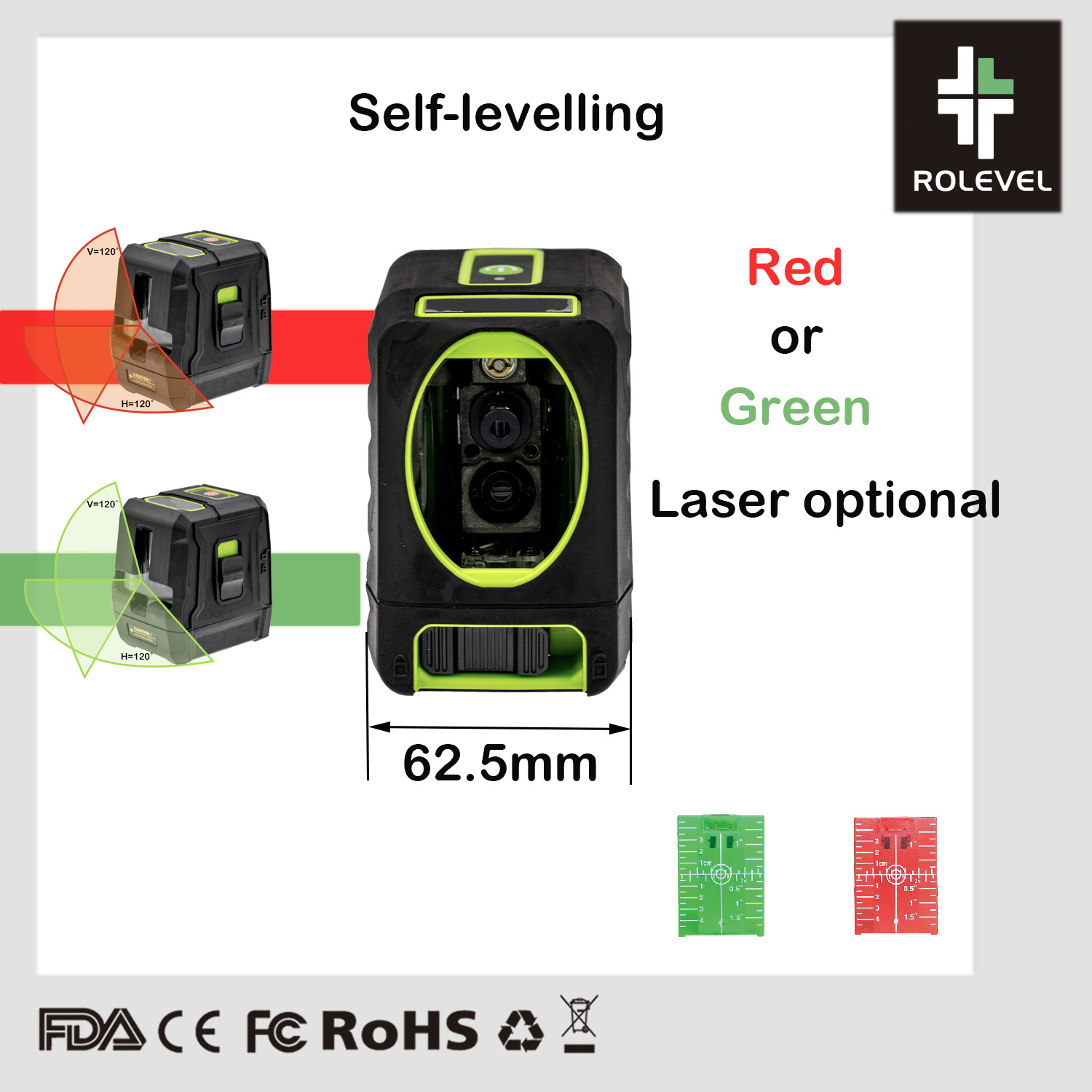 China Auto Leveling Diy Home Remodeling Red Beam Laser Level