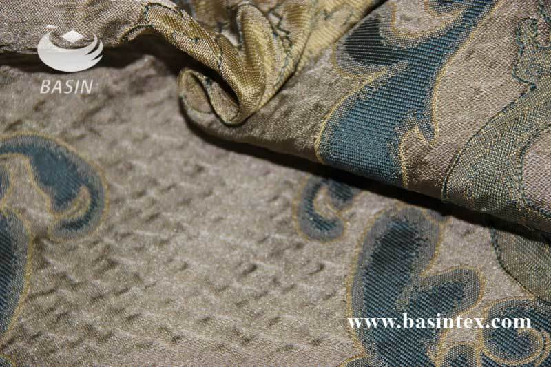 100% Polyester Jacquard Curtain Fabric (BS1009-5)
