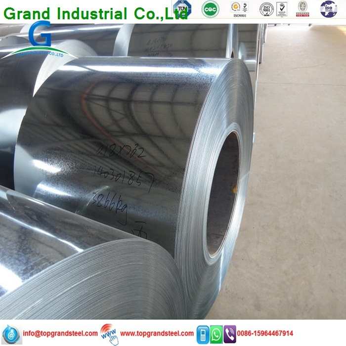 0.23mm Thickness SGCC Hot Dipped Galvanized Steel Sheets