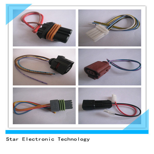 China Factory 2 Pin 3 Pin Plastic Electrical Automotive Manual Guide