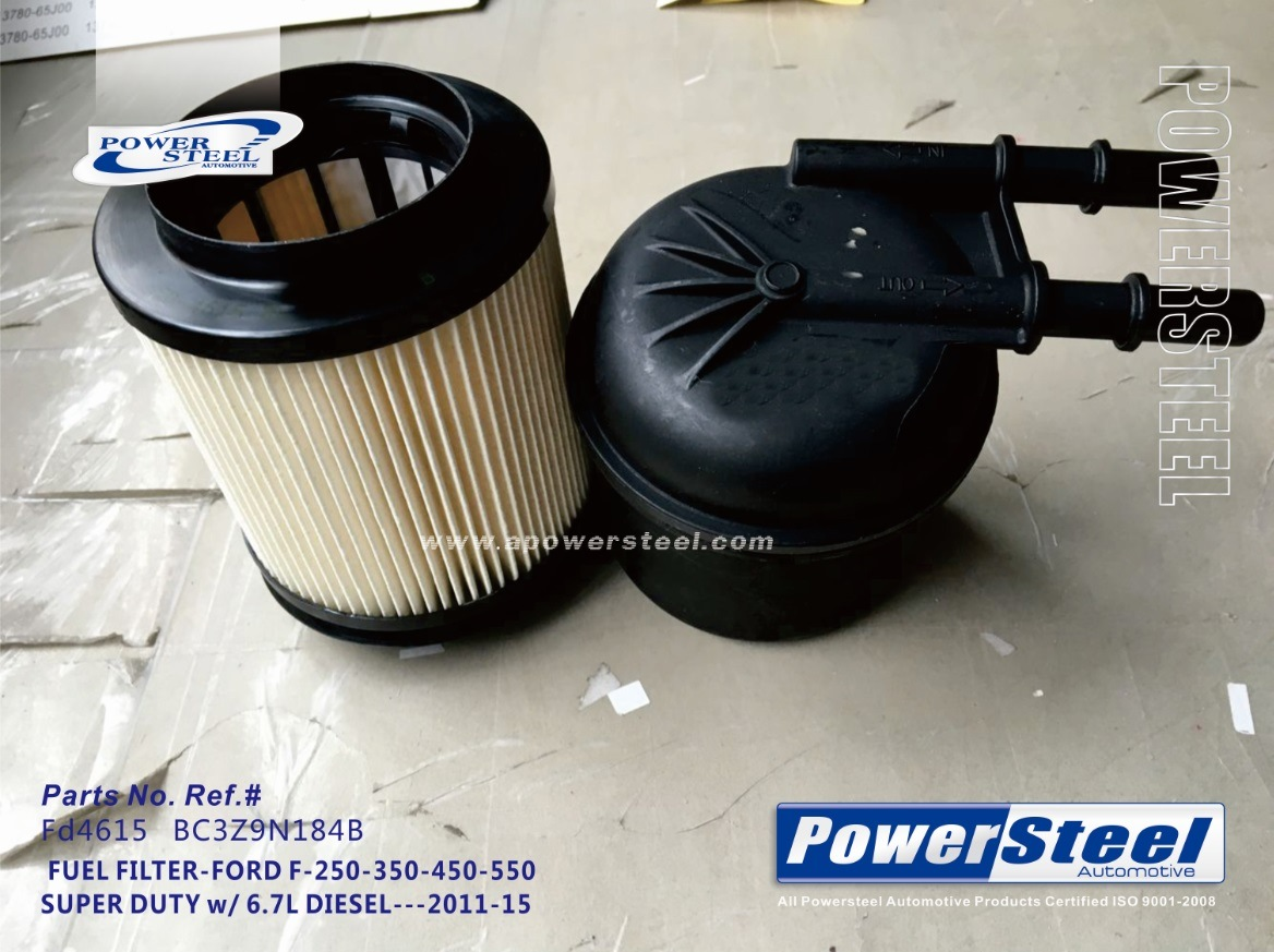 China K10826 Bc3z9n184b 33615 Powersteel Filter Fd4615 2006 Jeep Commander Fuel For Ford F 250 Super Duty