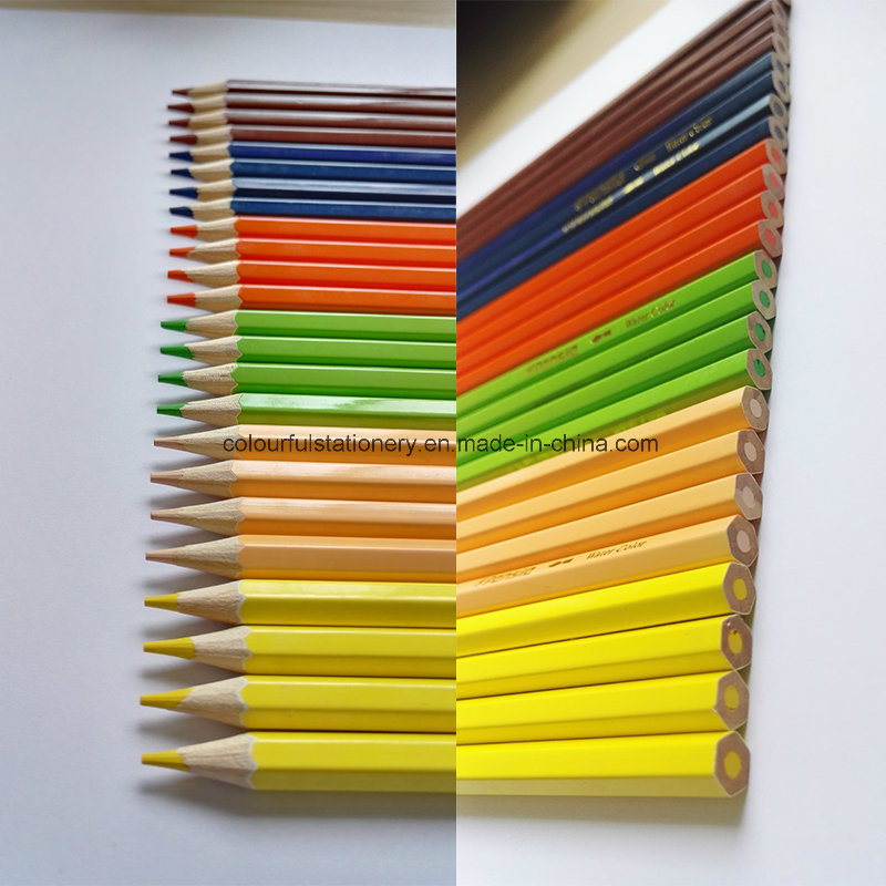 24PCS Wooden Color Pencil for Promotion Gift pictures & photos