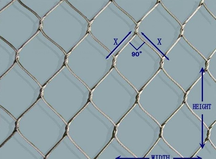 China Ferruled Flexible Stainless Steel Cable Mesh for Zoo or ...
