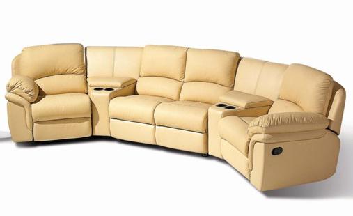 china comfortable vip home theater sofa leather recliner ya 608