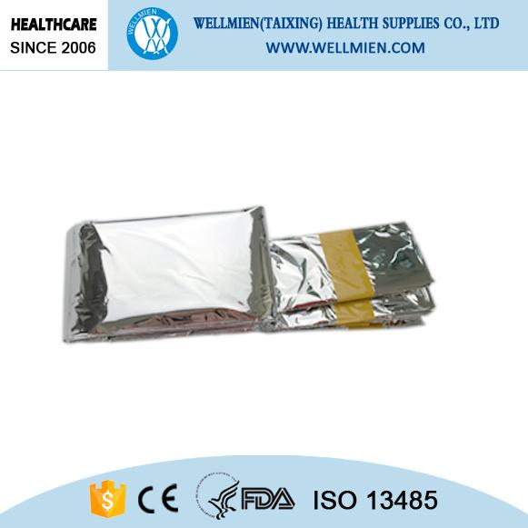 Hot Item 1 2m Waterproof Emergency Foil Sleeping Bag Reusable Outdoor Bags