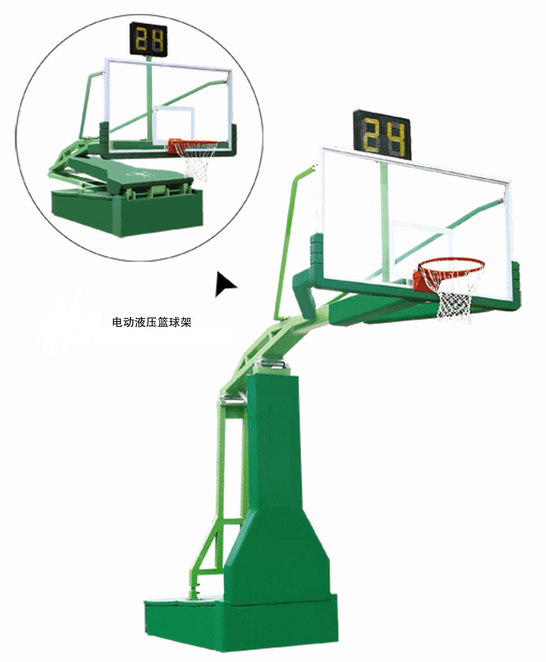 China Electric Hydraulic Movable Basketball Stand Photos Pictures Hoop Diagram