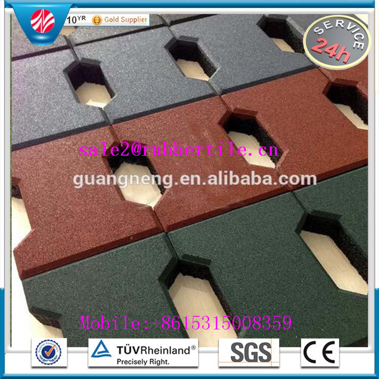 Playground Rubber Floor Mat, Gym Floor Mat, Rubber Floor Tiles pictures & photos