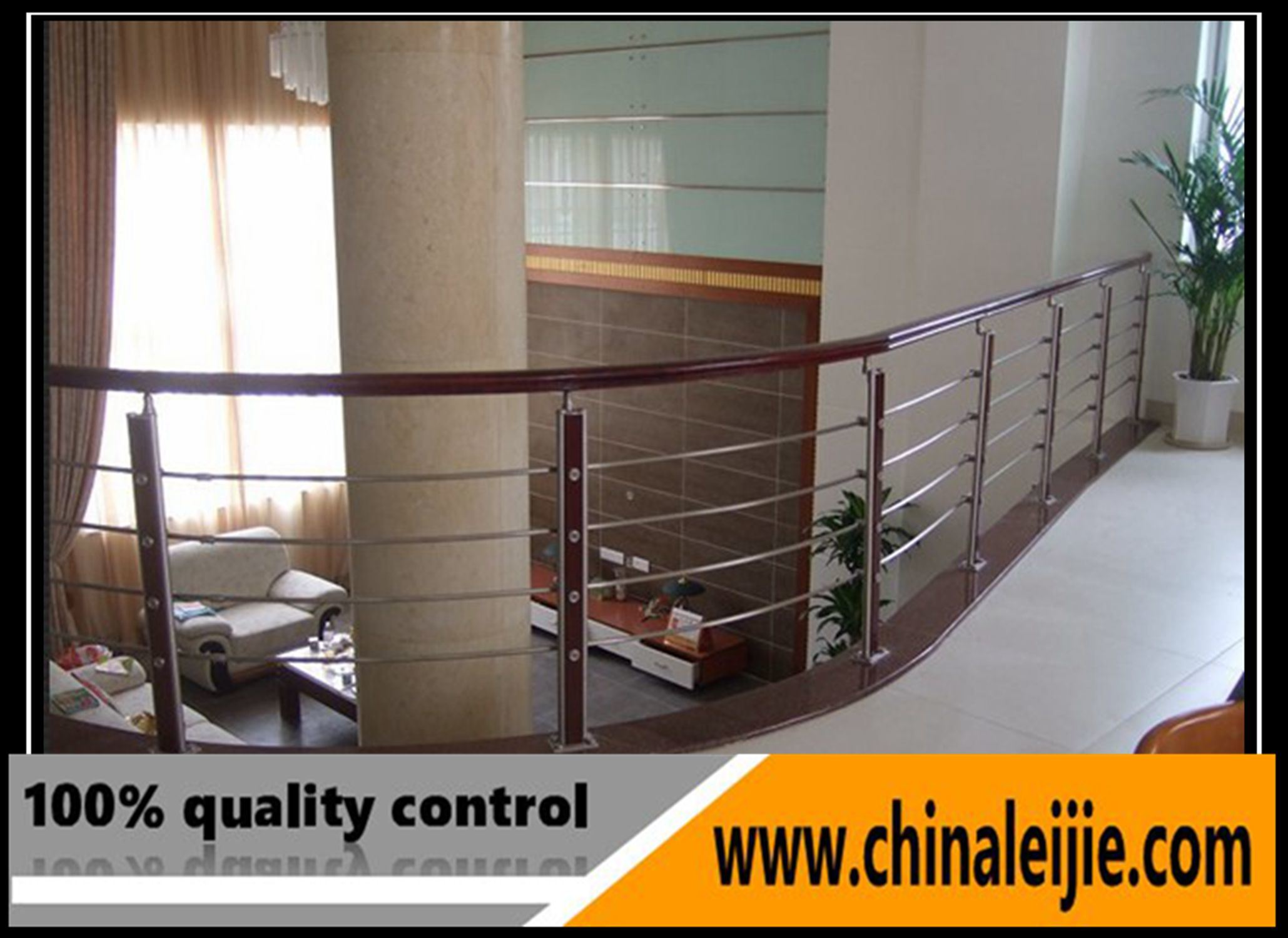 China Modern Stainless Steel Indoor Balcony Railing Design with ...