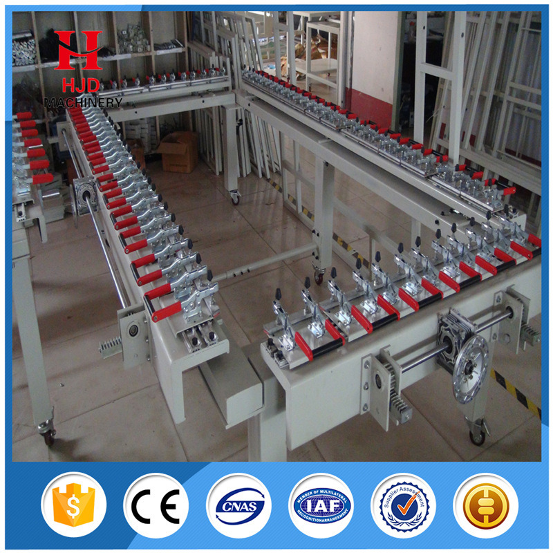Screen Stretcher Machine for Assembling Screen Frame and Screen Mesh pictures & photos