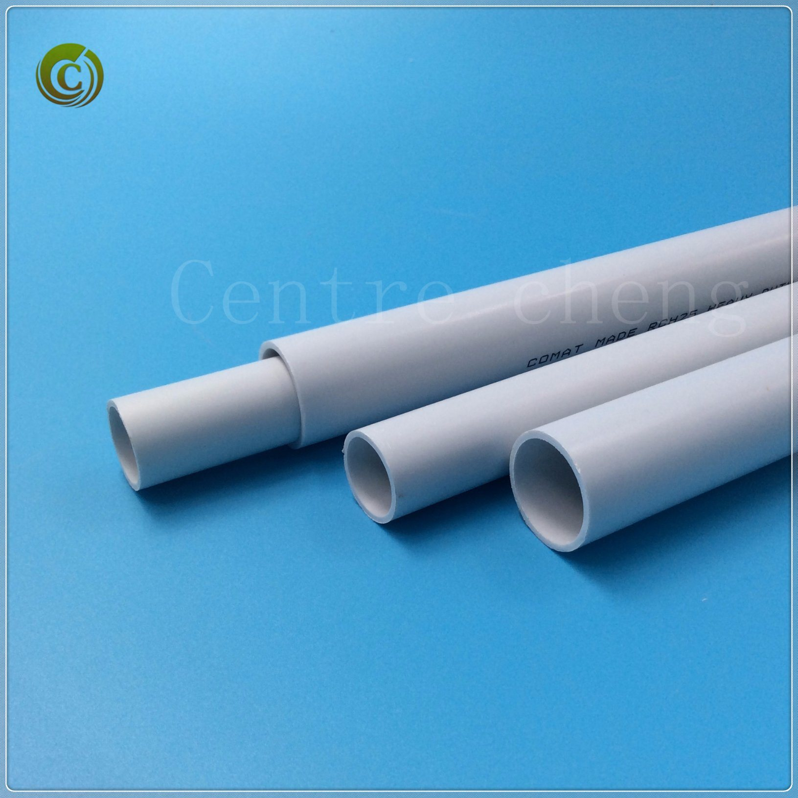 China 2018 16mmaa Cable Duct Electric Wiring Conduit Pipe Pvc In Plastic White Color