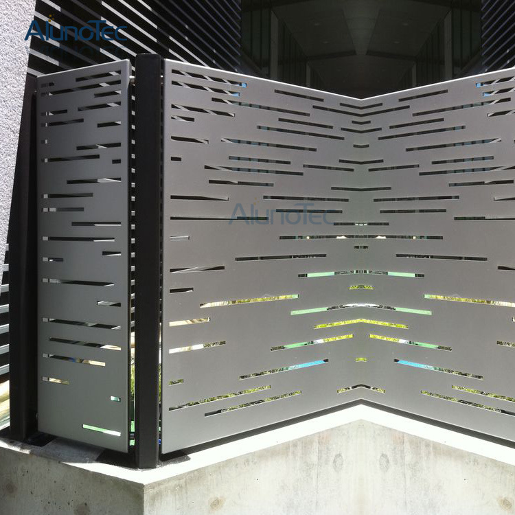 China Aluminum Metal Screen Perforated Panel Design