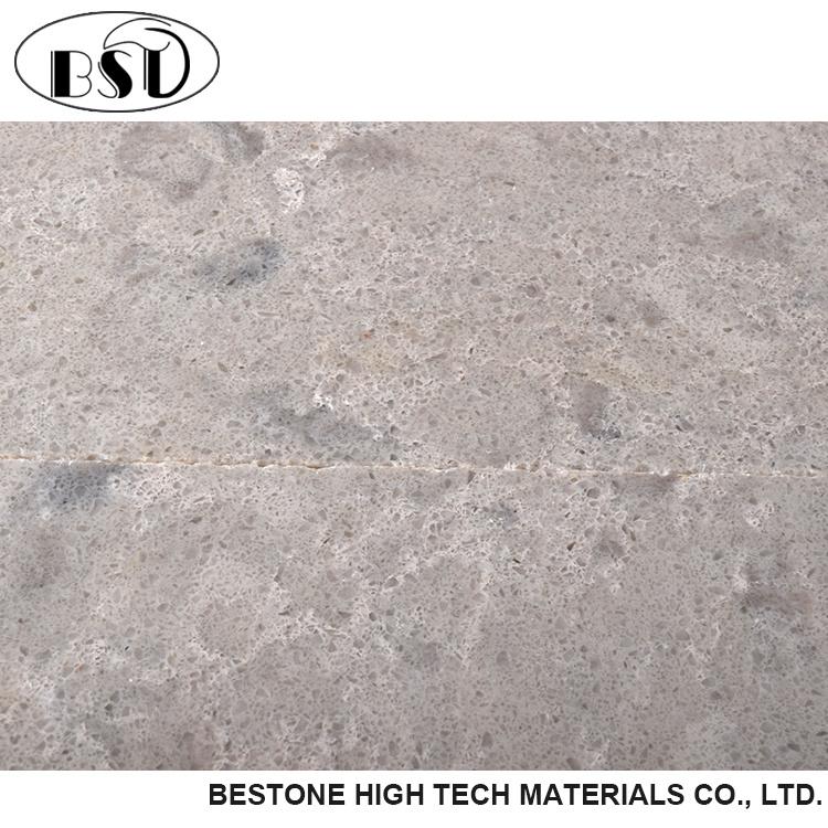 Ordinaire Good Quartz Surface Polished Grey Veined Quartz Countertop