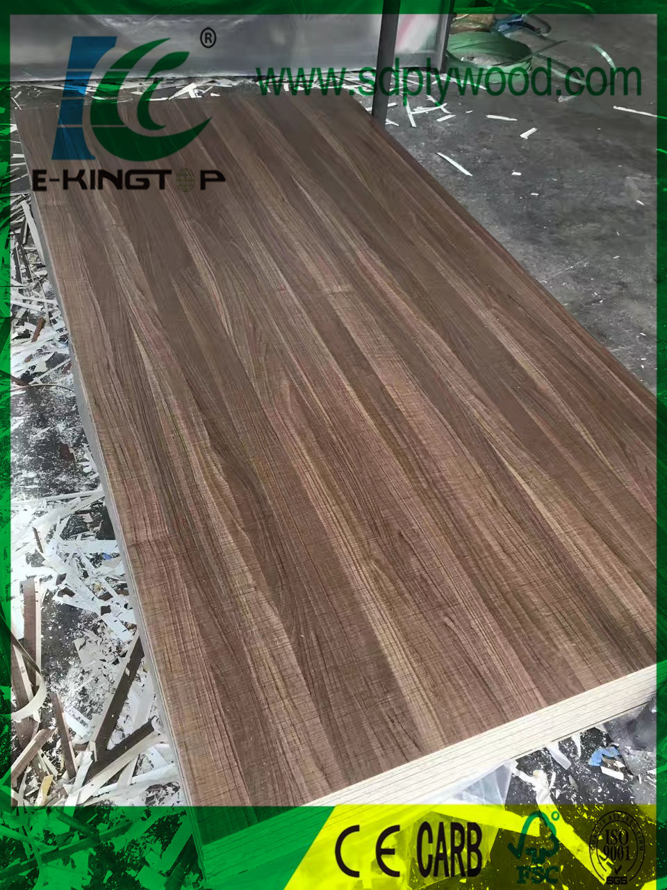 E1 Particle Board Chipboard 18mm Laminate Melamine For Furniture