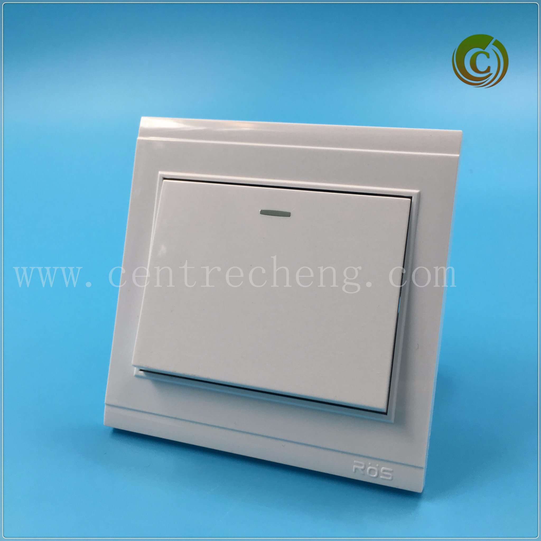 China 2018 Large Panel Wall Switch Electrical Switch White Switch ...