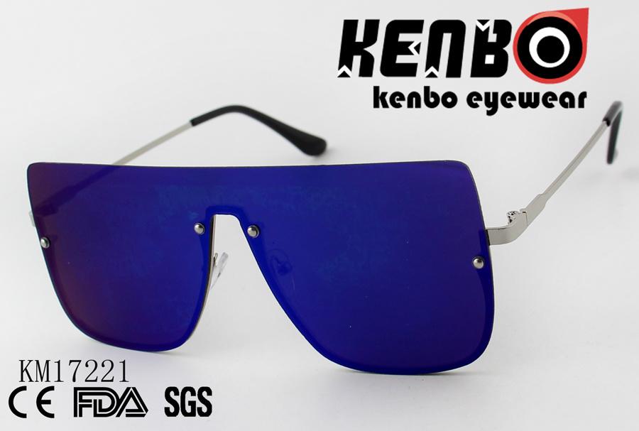 929caf649e0b China Big Size One Piece Lens Sunglasses Km17221 - China Sunglasses ...
