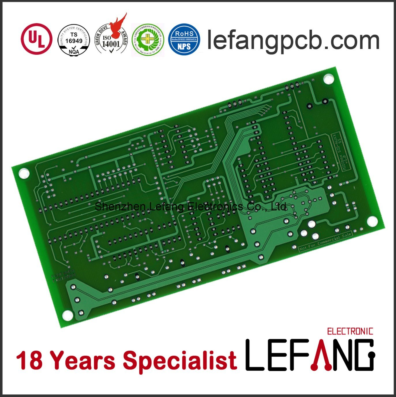 China Pcb Circuit Board For Automotive Gps Receiver Electronics Main